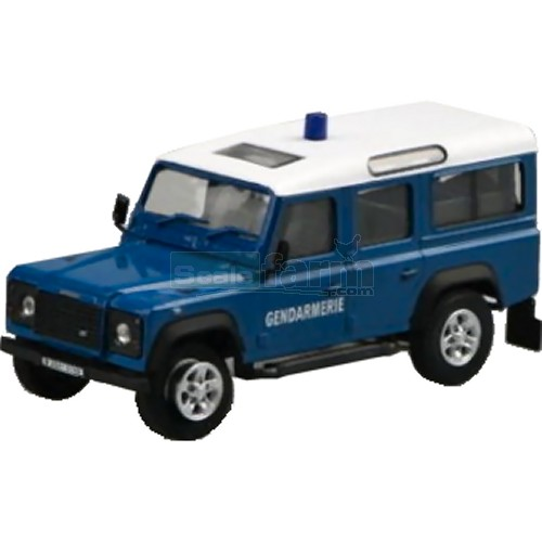 Cararama 220nd land rover defender gendarmerie for Garage land rover nancy