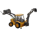 Volvo BL71 Side Shift Backhoe Loader - Motorart Collectible Models - 1:50 Scale  (Motorart 13033)
