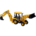 JCB 3CX Backhoe Loader - Motorart Collectible Models - 1:87 Scale  (Motorart 13136)