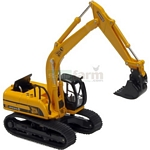 JCB JS220 Excavator - Motorart Collectible Models - 1:87 Scale  (Motorart 13138)
