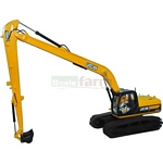 JCB JS220 Long Reach Excavator - Motorart Collectible Models - 1:50 Scale  (Motorart 13724)