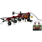 Fella TH 680D Hydro Tedder - MarGe Models Agricultural Miniatures - 1:32 Scale  (MarGe 0901)
