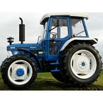 Ford 6610 4WD Tractor (2nd Gen) - MarGe Models Agricultural Miniatures - 1:32 Scale  (MarGe 1210)
