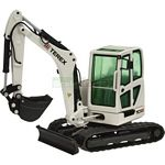 Terex TC50 Mini Excavator - White