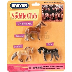 The Saddle Club Mini Whinnies 3 Horse Set - Breyer Mini Whinnies (Breyer 100172)
