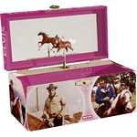 Elvis and His Horses Musical Treasure Box - Breyer Craft & Games  (Breyer 10318)