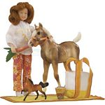 Pony Picnic Play Set - Breyer Traditional Accessories - 1:9 scale  (Breyer 1387)