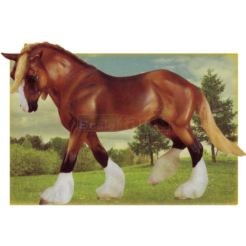 The Four Seasons - Spring - Chestnut (Breyer 1418)