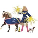 Pony Pep Rally Play Set - Fightin' Fillies - Breyer Traditional  - 1:9 scale  (Breyer 1424)