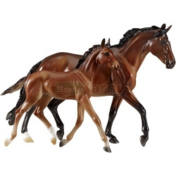 GG Valentine and Heartbreaker - Spirit of the Horse (Gloss) - Breyer Traditional  - 1:9 scale (Breyer 1474)