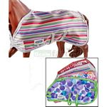 Colourful Stable Blanket (1 piece, Varied Colours)