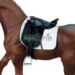 Stoneleigh II Dressage Saddle - Breyer Traditional Accessories - 1:9 scale  (Breyer 2465)