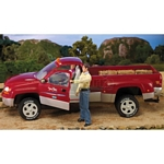 Dually Round Up Pick Up Truck - Red