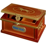 Deluxe Tack Box - Breyer Traditional Accessories - 1:9 scale  (Breyer 286)