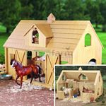 Breyer Deluxe Wood Barn with Hayloft (Breyer 302)