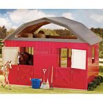 Breyer Two Stall Painted Wood Barn (Breyer 307)