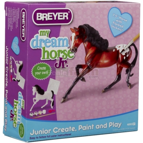 My Dream Horse Junior - Paint and Play with Stickers (Breyer 4093)