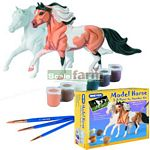 Model Horse 3D Paint By Numbers Kit