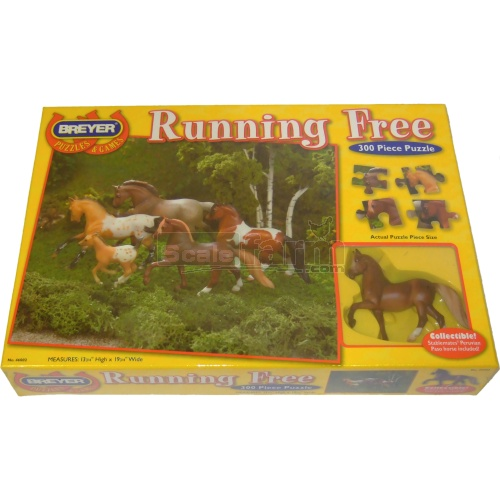 Breyer Jigsaw - Running Free 300 Piece (Breyer 46002)