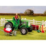 Stablemates Breyer Acres Tractor and Accessory Set - Breyer Stablemates - 1:32 scale  (Breyer 5358)