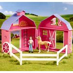 Stablemates Horse Crazy Pocket Barn (Breyer 5370)