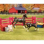 Stablemates New Arrival Play Set - Breyer Stablemates - 1:32 scale  (Breyer 5414)