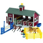 Stablemates Red Stable Set - Breyer Stablemates - 1:32 scale  (Breyer 59197)