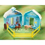 Frolicking Foals Pocket Barn - Breyer Stablemates - 1:32 scale  (Breyer 5932)