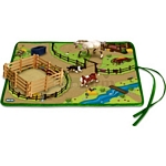 Roll & Go Western Play Mat - Breyer Stablemates - 1:32 scale  (Breyer 5934)
