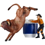 Jalapeno - Collectibulls, Every Cowboy's Nightmare - Breyer - 1:32 scale  (Breyer 5965)