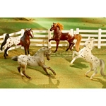 Stablemates Polka Dot Parade Gift Set - Breyer Stablemates - 1:32 scale  (Breyer 5979)