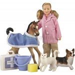 Animal Rescue Set - Breyer Classics - 1:12 scale  (Breyer 61036)
