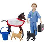Vet Care Gift Set - Breyer Classics - 1:12 scale  (Breyer 61039)