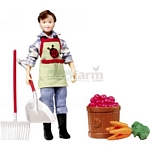 Olivia, Farm Fresh! Figure and Accessories - Breyer Classics - 1:12 scale  (Breyer 61046)