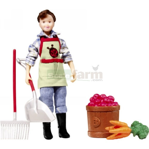 Olivia, Farm Fresh! Figure and Accessories (Breyer 61046)