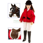 Show Jumper Chelsea Doll and Accessory Set - Breyer Classics - 1:12 scale  (Breyer 61052)