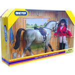 English Riding Gift Set - Breyer Classics - 1:12 scale  (Breyer 61055)