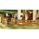 Horse Corral (Pack of 10) - Breyer Classics - 1:12 scale  (Breyer 61064)