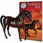 Samirah Horse and Book Set - Breyer Classics - 1:12 scale  (Breyer 6139)