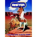 Horse Colouring & Activity Book - Breyer Craft & Games  (Breyer 7000CB)