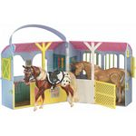 Pony Gals Two Stall Travel Barn - Breyer Pony Gals  (Breyer 7085)