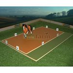 Dressage Arena And Paddock - Brushwood Toys - 1:12 Scale  (Brushwood BT1010)