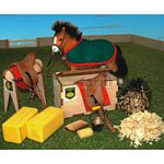Stable And Tack Room Set - Brushwood Toys - 1:12 Scale  (Brushwood BT1040)