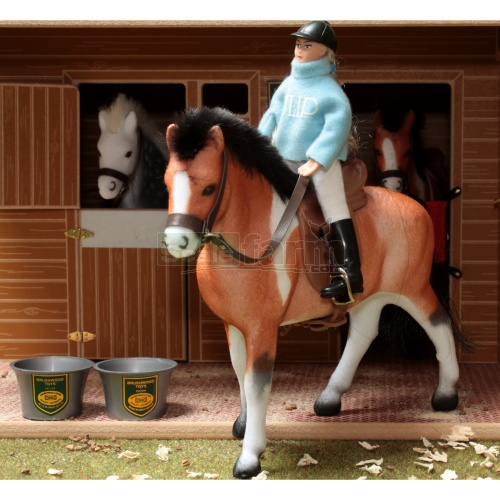 Horse And Rider Set (Brushwood BT1090)