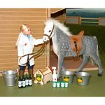 Horse, Vet And Animal Health Set - Brushwood Toys - 1:12 Scale  (Brushwood BT1110)