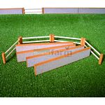 Stone Walling, Post and Fencing Rails Pack - Brushwood Toys - 1:32 Scale  (Brushwood BT2020)