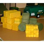 Mixed Bale Pack - Wooden - Brushwood Toys - 1:32 Scale  (Brushwood BT2050)