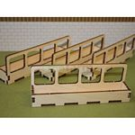 4 x Feeder Barriers - Brushwood Toys - 1:32 Scale  (Brushwood BT2074)