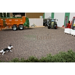 Ballast Mat - Dark Brown - Brushwood Toys  (Brushwood BT2087)