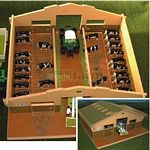 Wooden Cubicle Shed - Brushwood Toys - 1:32 Scale  (Brushwood BT3000)